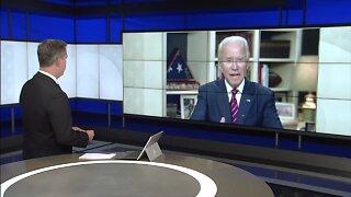 RAW INTERVIEW: Joe Biden talks with ABC15's Steve Irvin