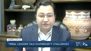 Tribal leaders discuss sovereignty challenges