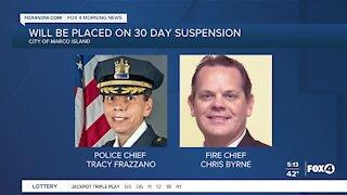 Marco Island Police Chief suspension
