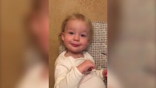 Little Girl has Great Animal Impressions