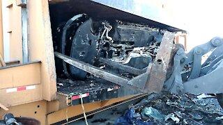 Removing car engine