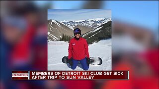 Members of Detroit Ski Club get sick of after to Sun Valley