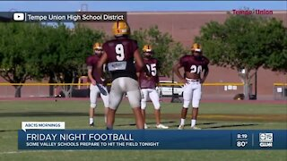 Some local high school football games still on this weekend