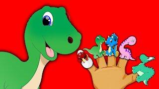 Finger Family DINOSAURS Song for Children Daddy Finger Dinosaurus Nursery Rhymes