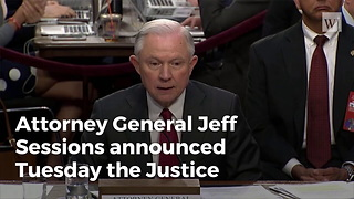 Justice Department Announces New Restrictions Against Sanctuary Cities