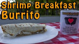 Dutch Oven Shrimp Breakfast Burrito