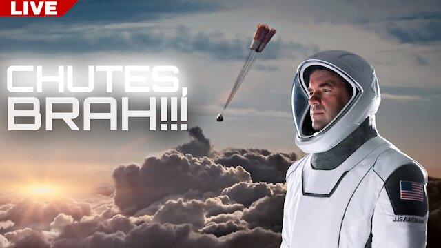 SpaceX Inspiration 4 Splashdown