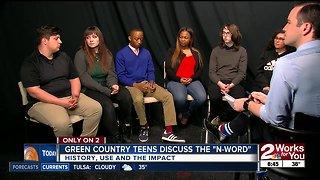 Teens dig deeper into the N-word