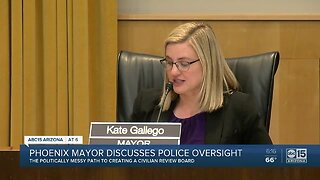 Phoenix mayor discusses police oversight