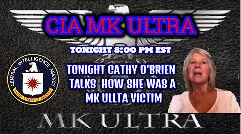 Cathy O'Brien MK-Ultra victim Tells Her Story 8:00 pm est