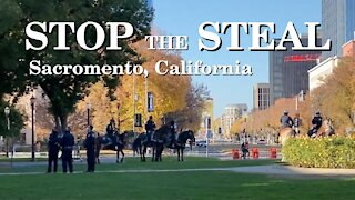 StopTheSteal | California State Capitol