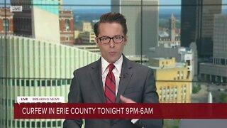 Headlines from City of Buffalo update on Sunday