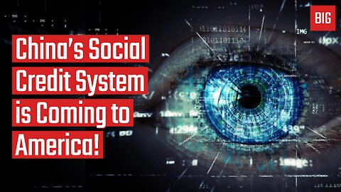 China's Social Credit System is Coming to America! - Reinette Senum
