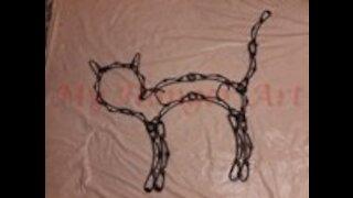 Hanger Black Cat