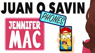 Juan O Savin calls Jennifer Mac - But that wasn't the shocking part! Exclusive interview!