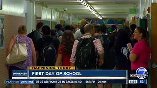 Denver Public Schools welcomes students back to class