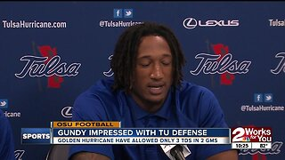 Tulsa Defense gears up for high-powered Oklahoma State