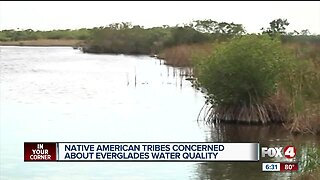 Native American tribes express concern over quality of water flowing into the Everglades