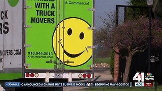 KC moving company says pandemic cut business in half