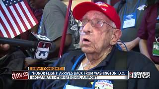 Veterans return to Las Vegas from D.C.