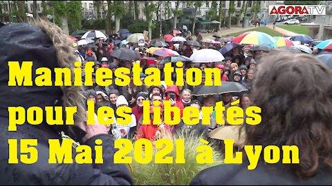 Manifestation à Lyon pour les libertés sans censure
