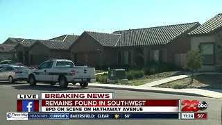 Possible human remains found in backyard of Southwest Bakersfield home