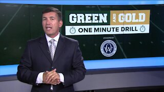 Green and Gold 1 Minute Drill - 7/28