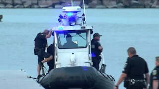1 man sent to hospital after being rescued off Milwaukee's South Shore Beach