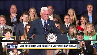 Vice President Mike Pence coming to Michigan