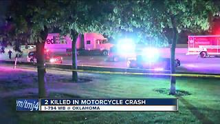 2 killed in motorcycle crash on I-794