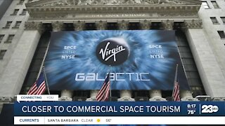 One step closer to commercial space tourism