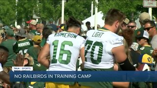 Green Bay Packers announce fans will not be allowed at training camp, Family Night, preseason games