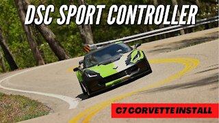 C7 Corvette DSC Sport Magnetic Ride Controller Install ***RIDE ALONG POPS AND CRACKS***