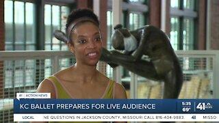 KC Ballet prepares for live audience