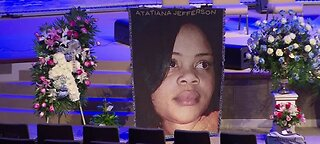 Local protest for woman shot in Texas