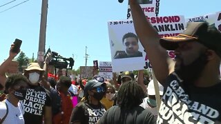 Hundreds gather in Cleveland to protest police violence