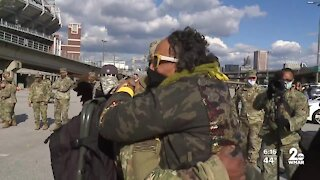 Maryland Army National Guard members return from deployment