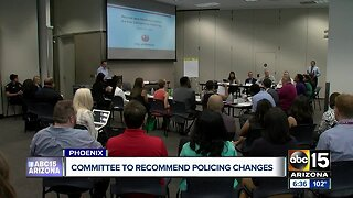 Committee studying Phoenix police and community relations meets for first time