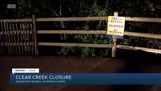 Golden's City Council to debate Clear Creek access tonight