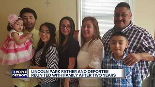 Lincoln Park father and deportee reunited with family after 2 years