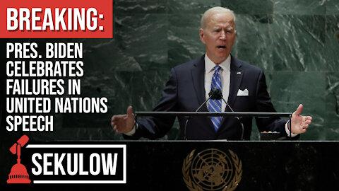 BREAKING: Pres. Biden Celebrates Failures in United Nations Speech