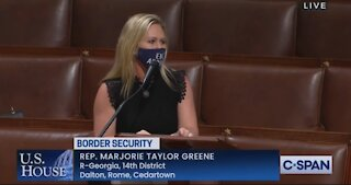 Marjorie Taylor Greene BLASTS Open Border Hypocrites In Congress