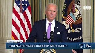 Biden issues memorandum to strengthen relationship with Native American tribes