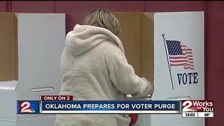 Oklahoma prepares for voter purge