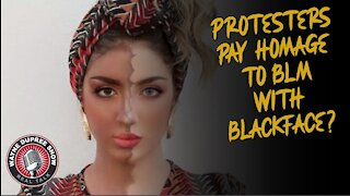 Protesters Support Black Lives Matters With Blackface?