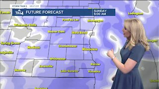 Light snow is forecasted for Sunday