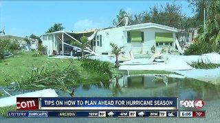 Tips on planning for Hurricane Season