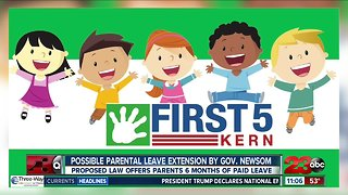 Proposed law by Governor Gavin Newsom offers 6 months of paid parental leave
