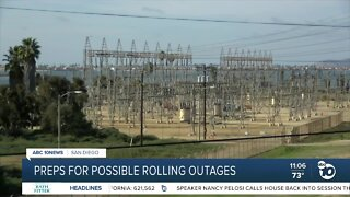 Preps for possible rolling outages