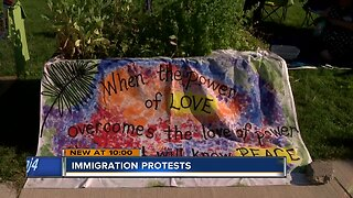 Local organizations protest immigration policy
